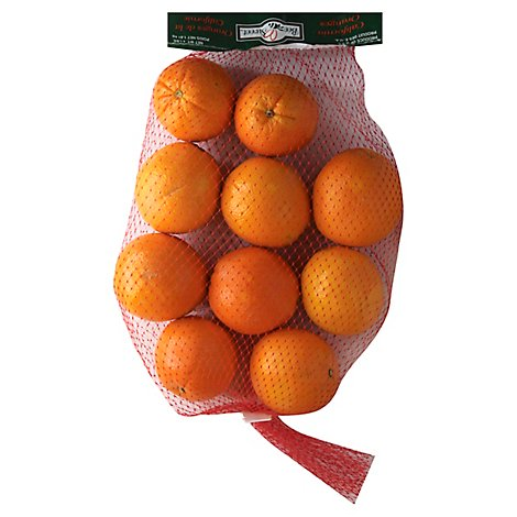 Navel Oranges Prepacked Bag - 4 Lb