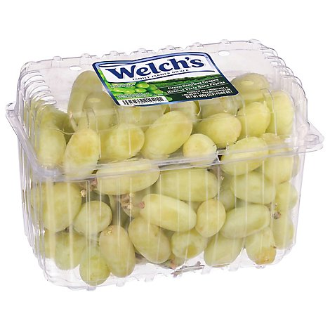 Grapes Green Seedless Clamshell Prepacked - 2 Lb
