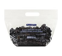 Black Seedless Grapes Prepacked Bag - 2 Lb