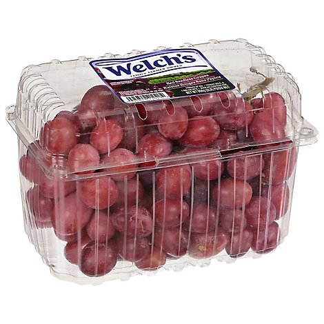 Grapes Red Seedless Prepacked - 2 Lb