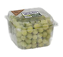 Grapes Green Seedless Prepacked - 3 Lb