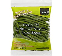 Earth Exotics Green Beans French Prepacked Bag - 8 Oz