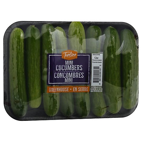 Cucumbers Mini - 12 Oz
