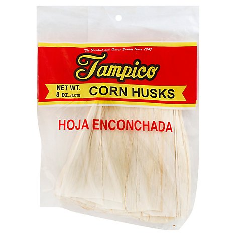 Tampico Corn Husks Hoja Enconchada - 8 Oz