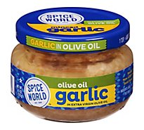 Spice World Garlic Minced in Extra Virgin Olive Oil - 4.5 Oz