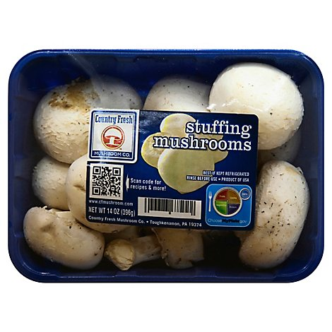 Mushrooms Stuffer Gourmet Prepacked - 14 Oz