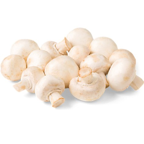 Whole White Mushroom - 1 Lb.