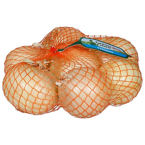 Yellow Onions Prepacked Bag - 3 Lb