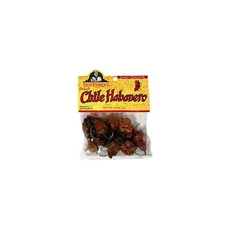 Don Enrique Chile Dried Habanero - 4 Oz