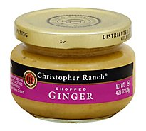 Christopher Ranch Ginger Jar Prepacked - 4.25 Oz