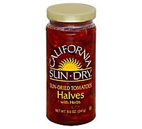 California Sun Dry Tomatoes Sun-Dried With Herbs Halves - 8.5 Oz