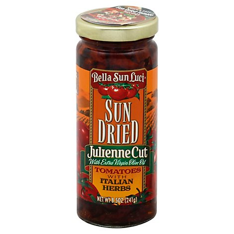 Bella Sun Luci Tomatoes Sun Dried Halves Julienne Prepacked - 8.5 Oz