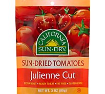 California Sun Dry Tomatoes Sun Dried Julienne Cut - 3 Oz