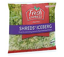 Fresh Express Shreds Iceberg - 8 Oz