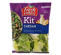 Fresh Express Salad Kit Caesar - 7.6 Oz