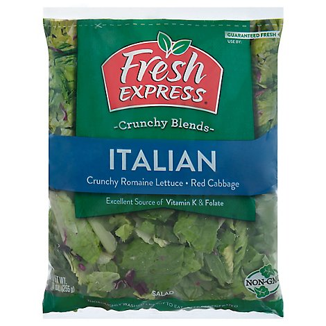 Fresh Express Salad Greens Italian - 9 Oz
