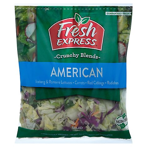 Fresh Express Salad Greens American - 11 Oz