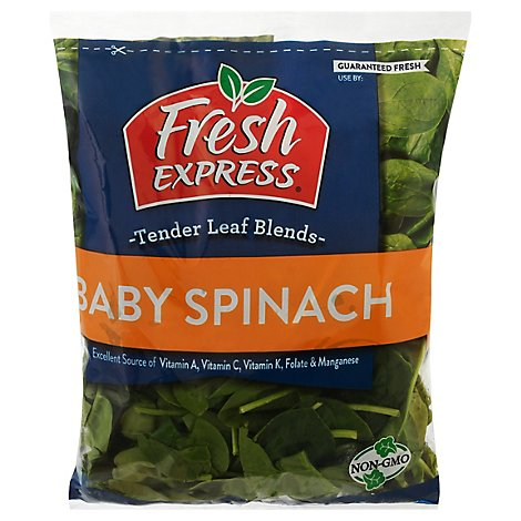 Fresh Express Salad Greens Baby Spinach - 5 Oz