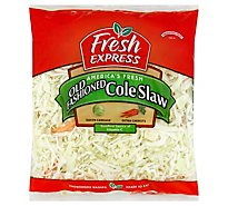 Fresh Express Salad Greens Cole Slaw 3 Color Deli - 14 Oz