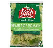 Fresh Express Salad Greens Hearts Of Romaine - 9 Oz