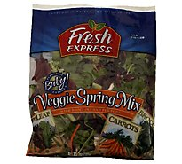 Fresh Express Salad Greens 50 50 Mix - 5 Oz