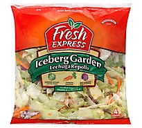 Fresh Express Salad Greens Iceberg Garden Lechuga Repollo - 12 Oz