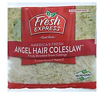 Fresh Express Coleslaw Angel Hair Prepacked - 10 Oz