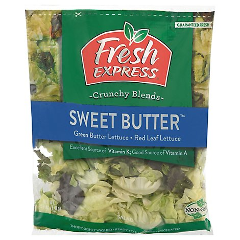 Fresh Express Salad Greens Sweet Butter - 6 Oz