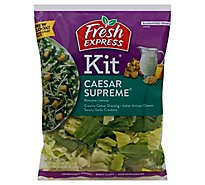 Fresh Express Caesar Supreme Salad Kit - 10.5 Oz