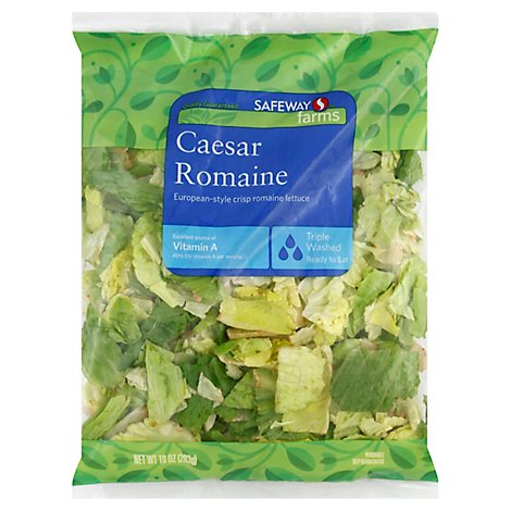 Signature Farms Salad Caesar Romaine - 10 Oz