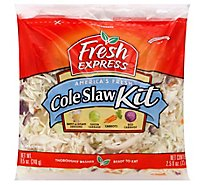 Fresh Express Coleslaw Kit Prepacked - 11 Oz