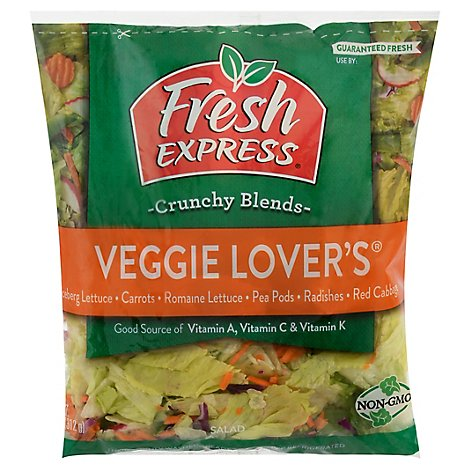 Fresh Express Salad Greens Veggie Lovers - 11 Oz