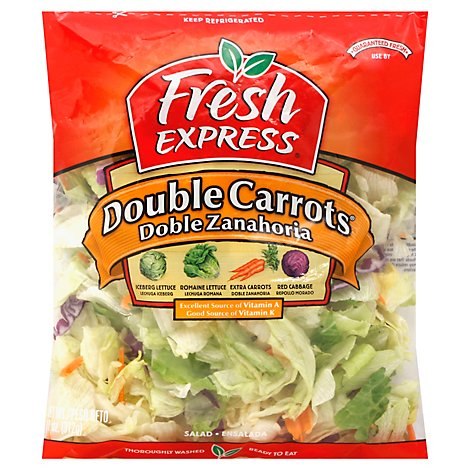 Fresh Express Salads Double Carrots Prepacked - 11 Oz