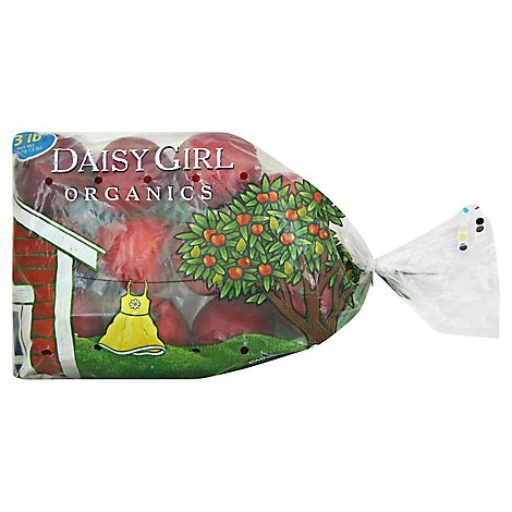 Daisy Girl Organics Apples Red Delicious - 3 Lb