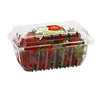Strawberries Organic Prepacked - 1 Lb