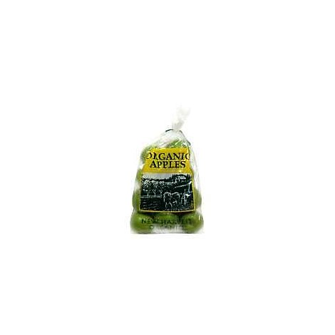 Apples Granny Smith Organic Prepacked - 3 Lb