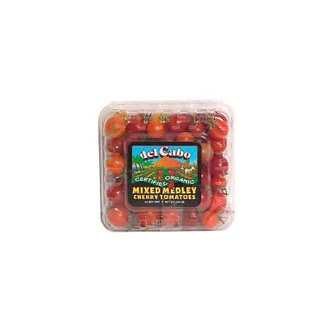 Tomatoes Cherry Mixed Organic Prepacked - 8 Oz