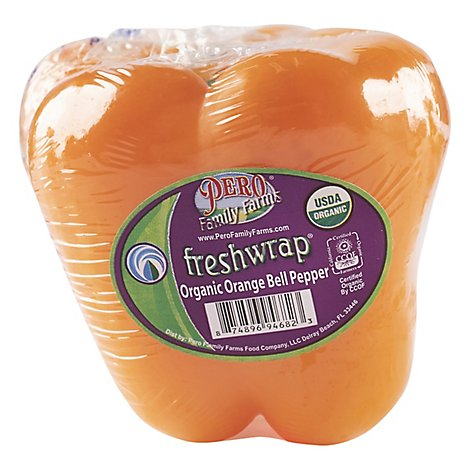 Orange Organic Bell Peppers