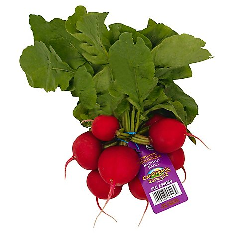 Radishes Red Organic - 1 Bunch