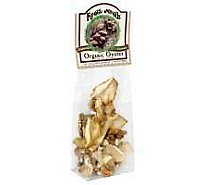 Mushrooms Dried Organic Oyster Prepacked - .50 Oz
