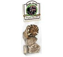 Mushrooms Shiitake Dried Organic Prepacked - 1 Oz