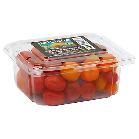 Tomatoes Cherry Medley Organic Prepacked - Pint