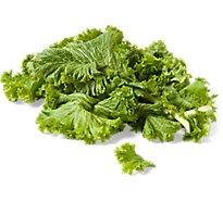 Organic Mustard Greens - 1 Bunch
