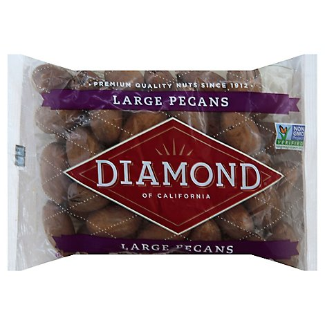 Diamond Of California Nuts Pecans In Shell Prepacked - 16 Oz