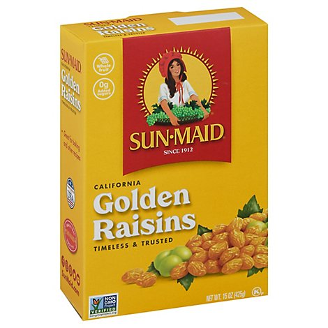 Sun-Maid Raisins California Golden - 15 Oz