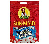 Sun-Maid Raisins Vanilla Yogurt - 8 Oz