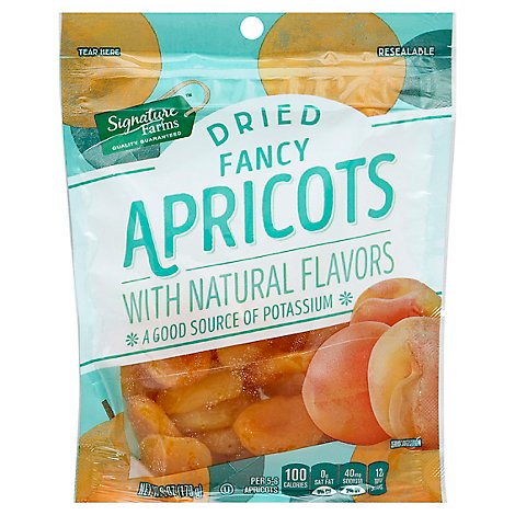 Signature Farms Apricots Fancy Dried - 6 Oz