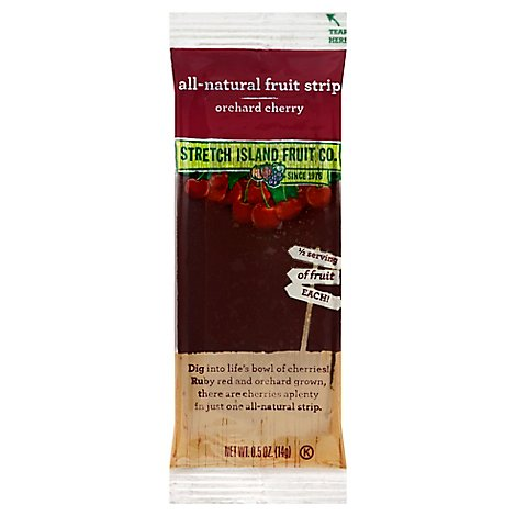 Stretch Island Fruit Leather Chunky Cherry - .50 Oz