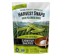 Harvest Snaps Lightly Salted Green Pea Snack Crisps - 3.3 Oz.