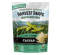 Harvest Snaps Caesar Green Pea Snack Crisps - 3.3 Oz.